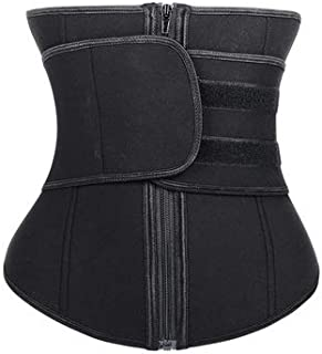 YSY-CY Waist Trainer Women Men Plus Size Neoprene Sauna Sport Body Shaper Tummy Control Slimming Sweat Fat Burning Modeling Waist Belt Suitable for yoga/postpartum repair