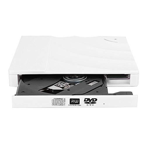 Bewinner1 Unidad óptica Externa, Grabadora de DVD de Tipo táctil USB 3.0...
