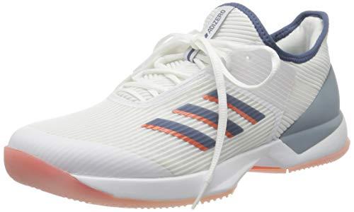 adidas Adizero Ubersonic 3 Allcourtschuh Damen-Weiß, Blau, Zapatillas de Tenis Mujer, Blanco, 42.5 EU 🔥