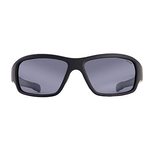 SINNER Gafas de sol unisex para hombre y mujer en varios colores de moda – metal estilo aviador retro y diseño vintage – con protección 100% UV400, polarizadas y no polarizadas (negro ahumado)