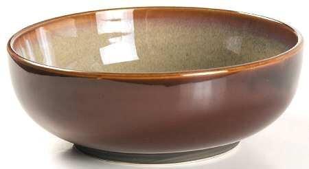 Sango Nova Brown Soup / Cereal Bowl