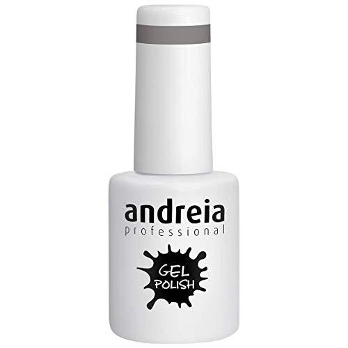Andreia Vernis à Ongles Gel Semi-Permanent Couleur 275 Gris - Soft Nuances de Nude - 10 ml