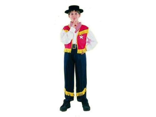 Rio - 1704/m - Costume Enfant Garçon - Cow-boy - 7-10 Ans