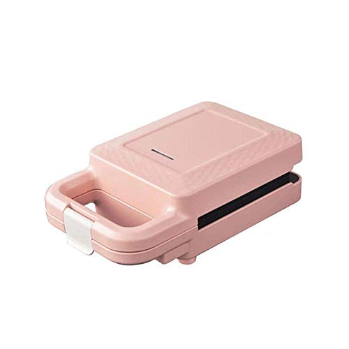Sandwich toastie fabricante, desayuno sandwich fabricante tostado tostado fabricante sandwich pan griller sandwich fabricante tostador eléctrico y sandwich maker máquina parrilla, rosa