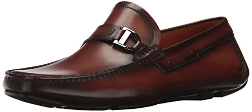 Magnanni Dallas Slip-on Loafer, Mid Brown, 10.5 M US