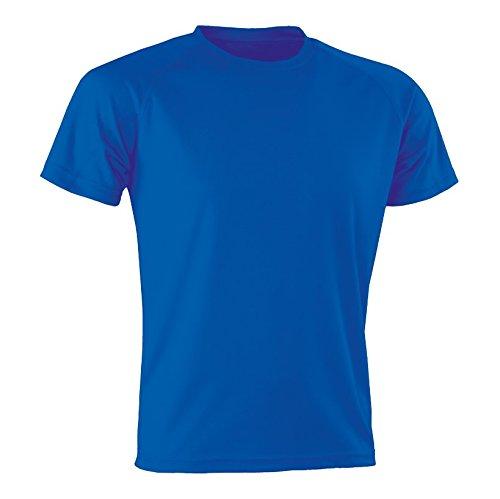 Spiro Performance Aircool T-Shirt Homme, Bleu Marine, XXXL