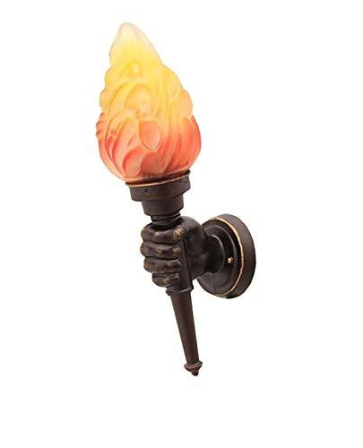 Lámpara de pared Antorcha creativa Lámpara de pared de man