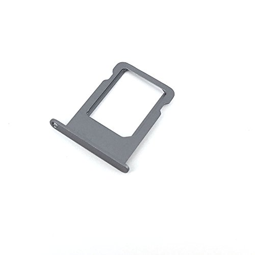 E-repair SIM Tray Holder Slot Replacement Part for iPhone 5 5S (Grey)