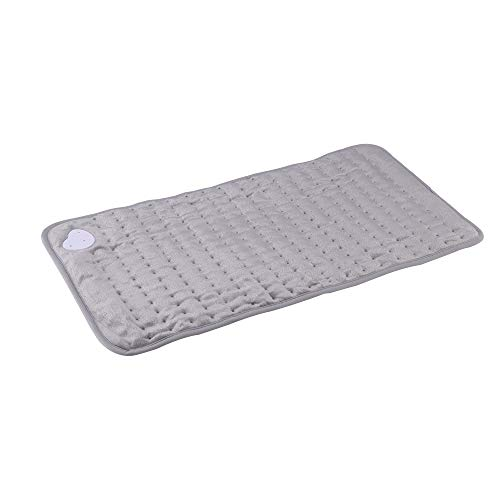 Laiashley 1 almohadilla térmica tejida lujosa mantas eléctricas de forro polar para...