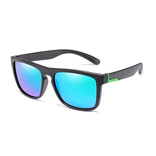 YTYASO Gafas de Sol Flexibles polarizadas UV con Estuche Gafas de Sol de conducción Unisex Hombres Square UV400 Regalos
