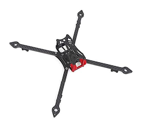VIKEP 77 x328 328 328mm Fibra di Carbonio Completa FPV.Kit Cornice Quadcopter da Corsa con Supporto for Braccio da 5 mm Elica da 8 Pollici