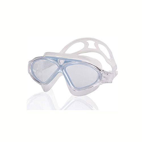 Cfilet Gafas de natación Versión Clara Gafas de Buceo Profesional Anti-Niebla Sport Eyewear Super Big Big Globos a Prueba de Agua, (Color: Negro, Azul, Rosa) (Color : Sky Blue)