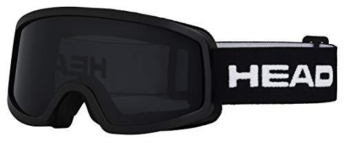HEAD Unisex jeugd Junior Skibril Stream, Black, One Size