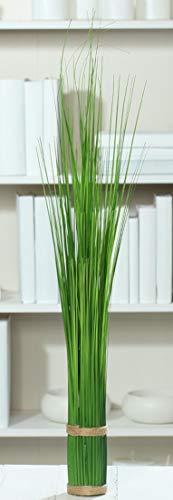 DPI künstliches Stehgras Bündel, Deko Gräser H. 60cm D. 7cm grün