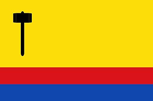 magFlags Bandera Large Maçanet de Cabrenys Spain | Maçanet de Cabrenys, in Girona Province, Spain | Bandera Paisaje | 1.35m² | 90x150cm