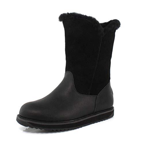 EMU Australia Latrobe Womens Waterproof Sheepskin Boots Size 9 EMU Boots Black