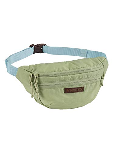 Burton Hip Pack Riñoneras, Adultos Unisex, Sage Green Crinkle