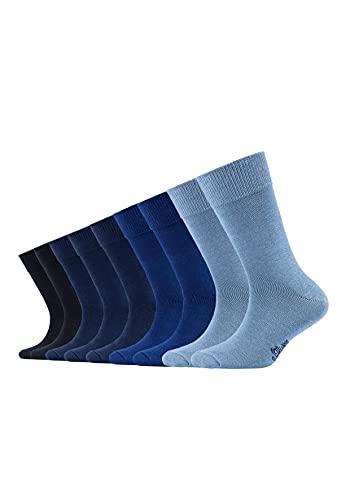 s.Oliver Kinder Socken (9er Pack) in Blau Gr. 39 - 42