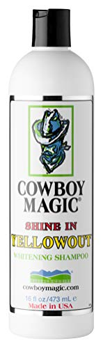 Cowboy Magic Unisex's Shine In Yellowout Shampoo, White, 473 ml