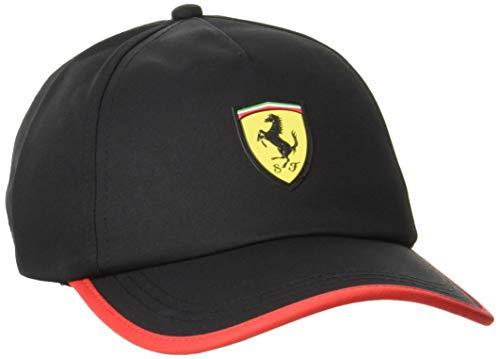 PUMA Ferrari Race BB Cap Gorra, Unisex Adulto, Negro, Talla Única