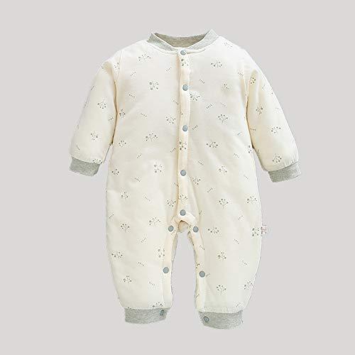 Saco de dormir para bebé de 2,5 tog con brazos y piernas de 0 a 12 m (diente de león, 0 a 3 meses)