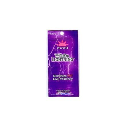 5 White Lightning Hot Tingle Tanning Lotion Packets