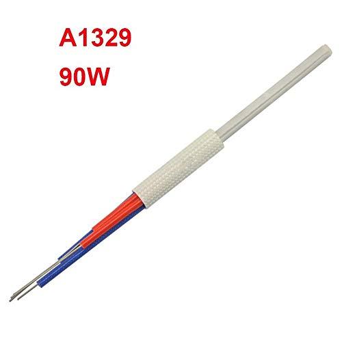 Lötkolben Kit 220V 60W 90W 110W Lötkolben Kern-Heizelement-Replacement Ersatzteil Verschmelzen-Werkzeug (Color : A1329 90W, Size : Kostenlos)