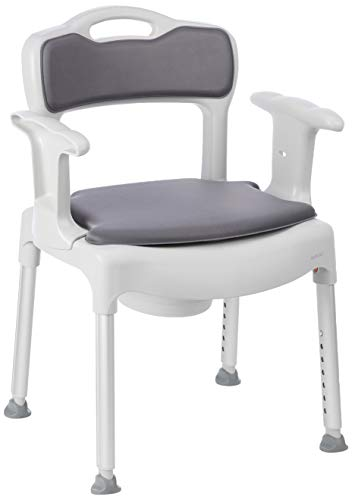 Etac Swift Commode Chaise Garde - Robe avec Coussins