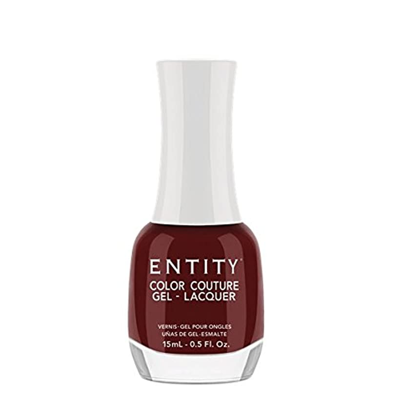注入する何よりも洞察力Entity Color Couture Gel-Lacquer - Cabernet Ball Gown - 15 ml/0.5 oz