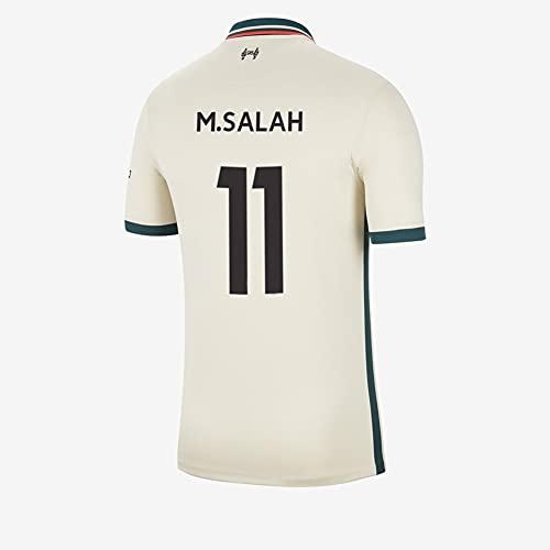 Ayundong 2022 M.Salah Camiseta de fútbol Lejos para Hombre Talla M