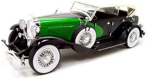 1934 Duesenberg 1 18 schwarz & Grün