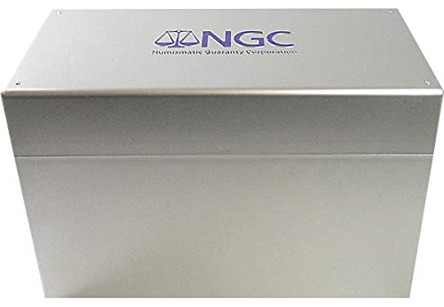 NGC Plastic Storage Box for 12 Oversize Slab Coin Holders