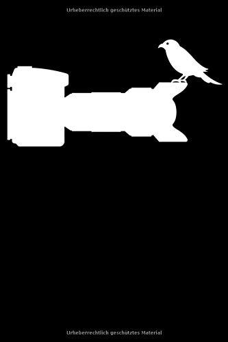 Notizbuch: Vogelfotografie Kameramann Fotograf Notizbuch DIN A5 120 Seiten für Notizen, Zeichnungen, Formeln | Organizer Schreibheft Planer Tagebuch