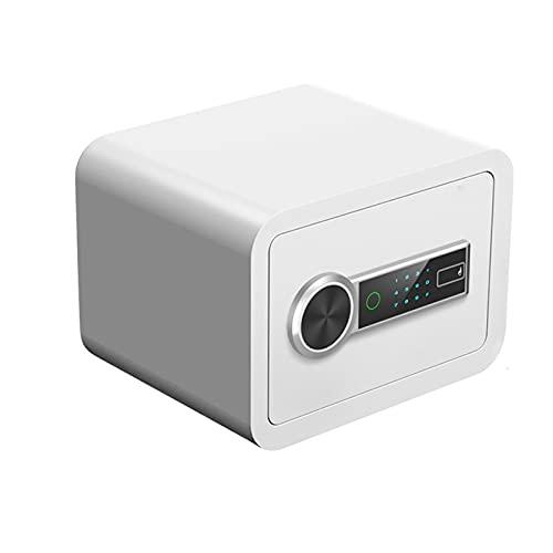 GFDDZ Cajas Fuertes Caja de Seguridad con Pantalla de Teclado Digital y Estante extraíble,Triple Sistema de Seguridad,Caja Fuerte para el hogar de Acero con Pantalla Digital LCD