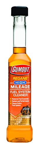 Gumout 510023 Regane High Mileage Fuel System Cleaner, 6 oz.