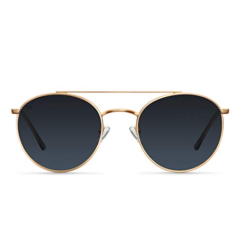 Meller Himba Kollektion - UV400 Polarisiert Unisex Sonnenbrillen (Himba Gold Carbon)
