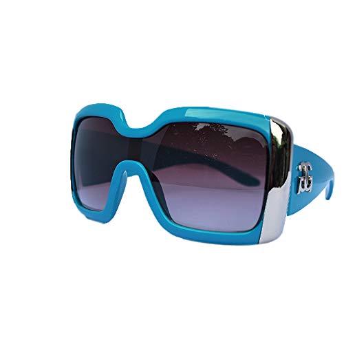 GG Eyewear Retro-GGT001 Dames Designer Zonnebril - Volledige UV400 Bescherming - Vrouwen Mode Oversized Zonnebril - Met GRATIS Pouch