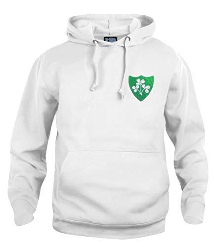 Felpa da calcio nazionale della Repubblica d'Irlanda taglie S-XXXL Logo ricamato