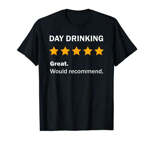 Funny Day Drinking Outfit Joke Alcohol Drink Humor Camiseta