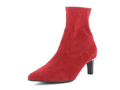 Peter Kaiser Damen Stiefeletten HERDIS, Frauen Stiefelette, feminin elegant Womens Woman Freizeit leger Stiefel Boot Bootie,Lipstick,40 EU / 6.5 UK