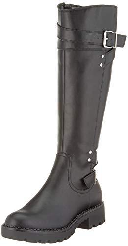 Buffalo Damen FALLOU Hohe Stiefel, Schwarz (Black 001), 39 EU