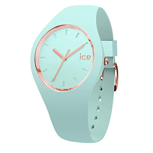 Ice-Watch - ICE glam pastel Aqua - Women's wristwatch with silicon strap - 001064 (Small)