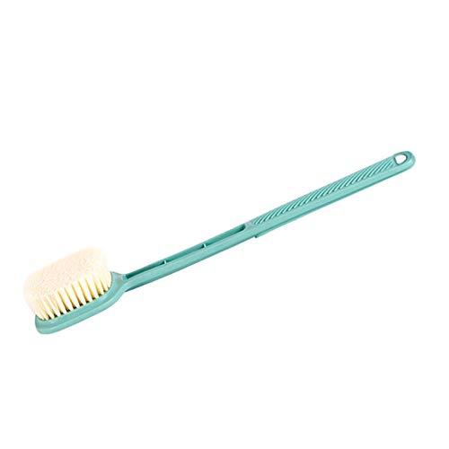 PhABULS Guantes exfoliantes hechos con bambú natural y fibra de lino para uso en la ducha, guantes de lufa para eliminar la piel muerta para hombres y mujeres (tipo 2)