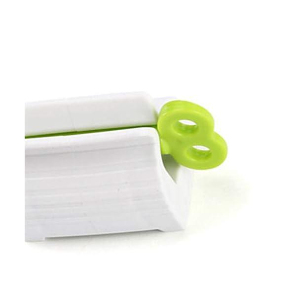 Junecat Rodando Tubo de Pasta dentífrica dispensador del exprimidor de