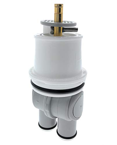 Essential Values Universal Shower Cartridge (#RP46074) – Aftermarket Replacement for Delta Faucets Series 13/14 - Made from the Markets Finest Metals & Plastics