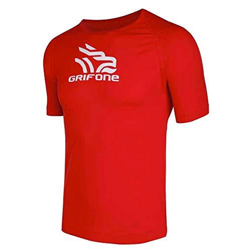 Grifone - Tackett T Shirt S/S, Color Rojo, Talla XS-S