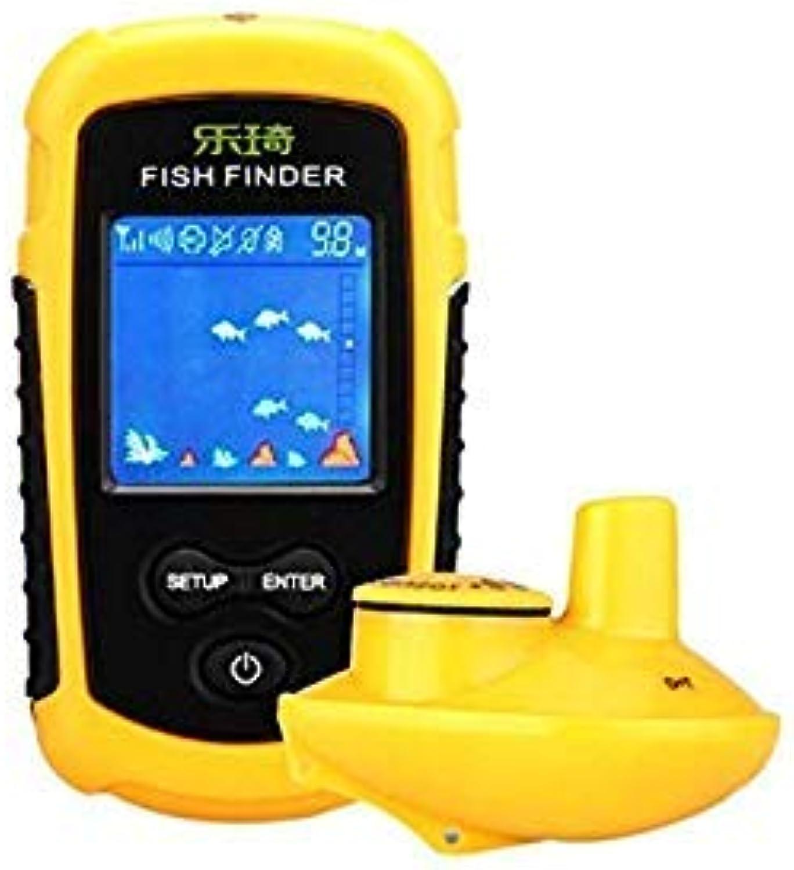GEOPONICS Outdoor Portable 40m Depth Range FFW11081 Wireless Fish Finder Fish Finder 40m Depth Range Ocean Lake Sea Fishing Tools