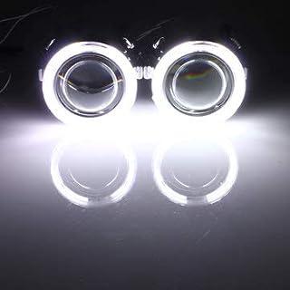 BephaMart 2 x Ricambio Auto Angel Eyes Light Halo Anelli CCFL Inverter