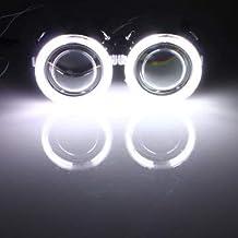 3 Serie E46 Compatto 01-05 CCFL Angel Eye Halo Kit 6000K Bianco Set Illuminazione