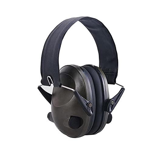EarDefenders - Auriculares de audio antiruidos para disparar auriculares con acolchado suave para fuegos artificiales, conciertos y cine (tamaño: 14,5 x 23 x 23,5 cm), color...